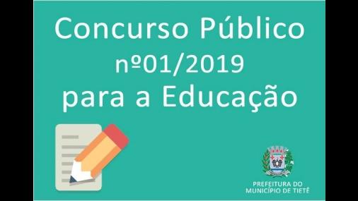 Prefeitura de Tietê publica edital de concurso público
