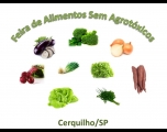 Feira de Alimentos sem Agrotóxicos de Cerquilho