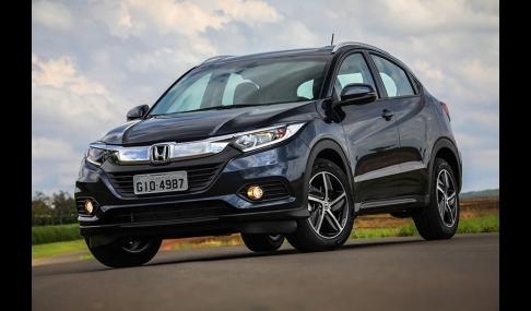 Honda HR-V chega à de 200 mil unidades comercializadas no Brasil