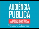 Prefeitura convida a população para a Audiência Pública de Saúde