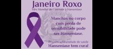 Prefeitura do Município adere ao Janeiro Roxo