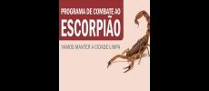 Prefeitura irá realizar mutirões de orientação contra escorpiões