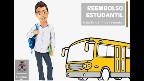 Prefeitura informa sobre cadastro do Transporte Estudantil