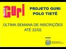 Matrículas do Projeto Guri se encerram nesta sexta-feira