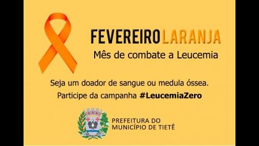 Prefeitura de Tietê adere ao Fevereiro Laranja