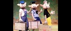 Teatro Municipal recebe a peça infantil �Os três porquinhos�