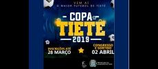 Secretaria de Esportes abre inscrições para a Copa Tietê 2019