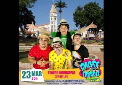 Teatro Municipal receber o show de humor Pagode da Ofensa