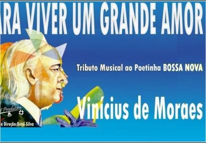 Teatro de Cerquilho recebe Tributo a Vinícius de Moraes