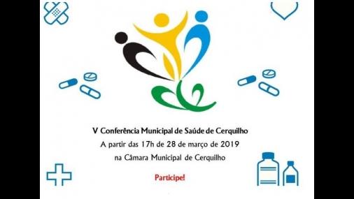 Prefeitura convida para V Conferência Municipal de Saúde