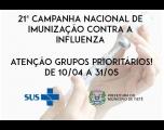 21ª Campanha Nacional de Vacinação Contra a Influenza