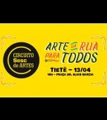 Tietê receberá Círcuito Sesc de Artes neste mês