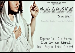 Espetáculo da Paixão de Cristo acontece neste final de semana