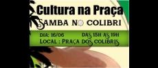 Prefeitura de Cerquilho convida para o Samba no Colibri