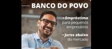Banco do Povo empresta mais de R$ 90 mil para microempresários