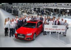 Audi A4 celebra 25 anos