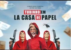 Tubinho em LA CASA DE PAPEL se apresenta no Teatro Municipal