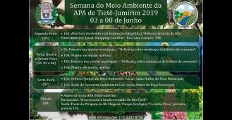 Prefeitura divulga a programação da Semana do Meio Ambiente 2019