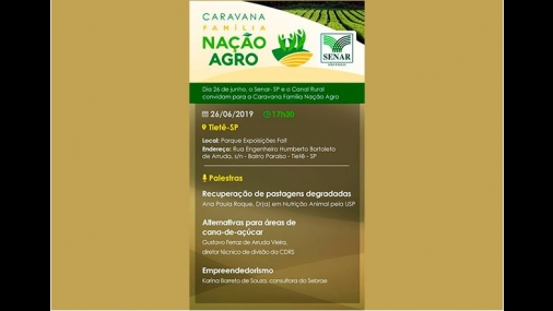 Tietê recebe Caravana Família Nação AGRO