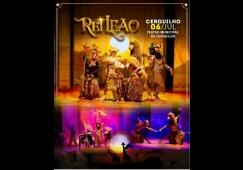 """Teatro Municipal recebe o espetáculo """"Rei Leão O Musical"""""""