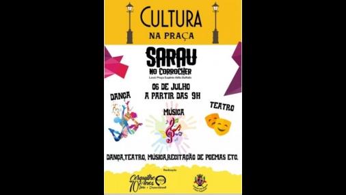 """Prefeitura de Cerquilho realiza """"Sarau no Corrocher"""""""