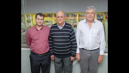 Diretoria Coocerqui: Durval, Raul e Luiz Carlos